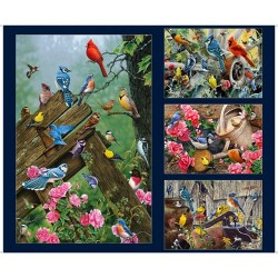 Songbirds Panel (90CM)