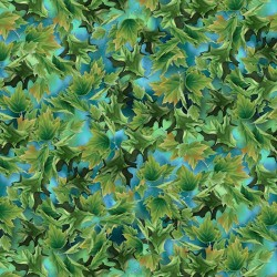 Leaves - TURQUOISE