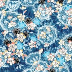 Feature Floral - DENIM