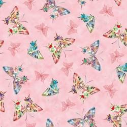 Tossed Butterflies - PINK