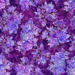 Floral Bouquet - PLUM
