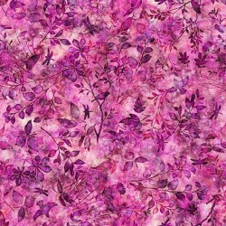Floral Spray - FUCHSIA