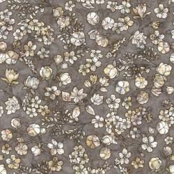 Floral & Cotton - CHARCOAL