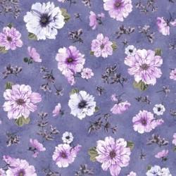 Spaced Floral - VIOLET