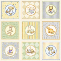 Baby Animal Picture Panels (90cm)