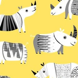 Rhinos - YELLOW