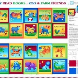 Book Panel - Zoo and Farm Friends
