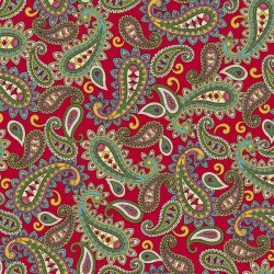 Packed Paisley - RED