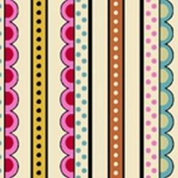 Decorative Stripe - CREAM
