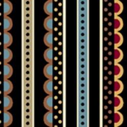 Decorative Stripe - BLACK