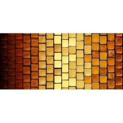Tile Stripe - RUST