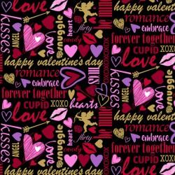 Valentine Lingo - BLACK