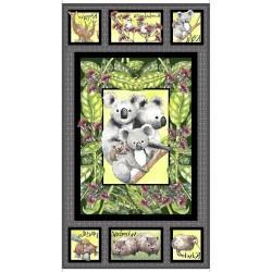 Koala Panel (60cm) - CHARCOAL