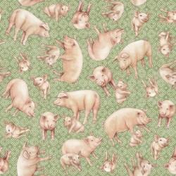 Pigs - GREEN
