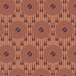 Deco Circles - TERRACOTTA