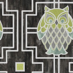Owl Trellis - GRAPHITE
