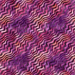 Diagonal Stripe 130/70 Weave - MAGENTA