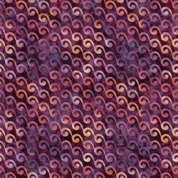 Scrollies 130/70 Weave - PURPLE
