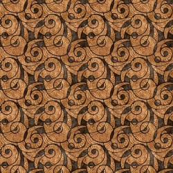 Packed Swirl 130/70 Weave - LT BROWN