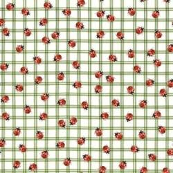 Ladybug  Check - GREEN