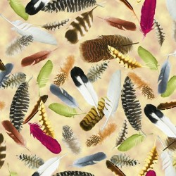 Feathers - TAN
