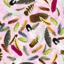 Feathers - PINK