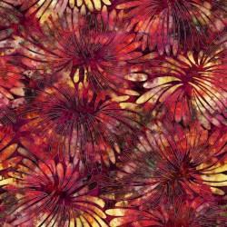 Large Floral 130/70 Weave - BRICK