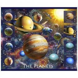 Panel - Planet 90cm - NAVY
