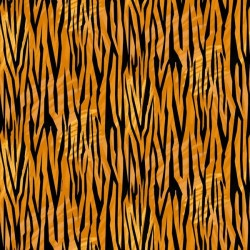 Tiger Skin - BURNT ORANGE