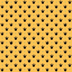 Paw Prints - GOLD