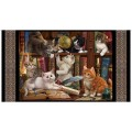 Quilting Treasures - LITERARY KITTENS