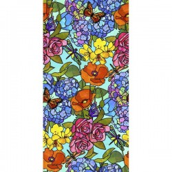 Stained Glass Floral - MULTI