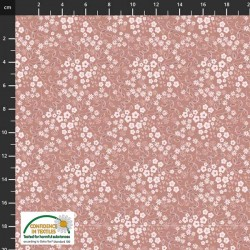 Avalana Jersey Organic 160cm Wide Tiny Flowers - PINK