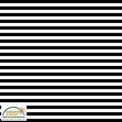STRIPE JERSEY KNIT - BLACK/WHITE 160cm wide