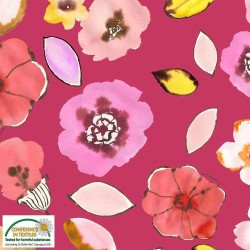 Avalana Jersey 160cm Flowers - MULTI