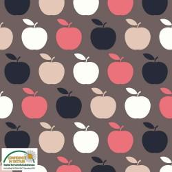 Avalana Jersey 160cm Wide Apples - MULTI