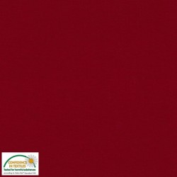 Avalana Jersey Knit 162cm WIDE - BURGUNDY SOLID