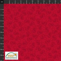 Ribbon Pattern - RED