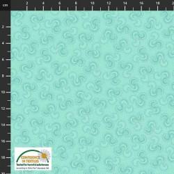 Ribbon Pattern - AQUA