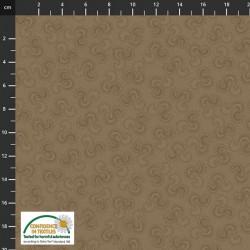 Ribbon Pattern - BROWN