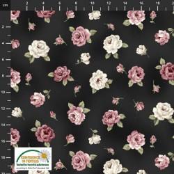 Small Roses - DK BROWN