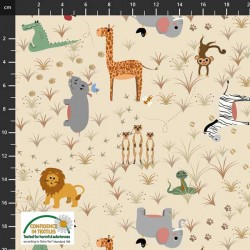 Safari Animals - NATURAL