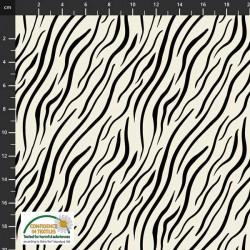 Zebra Print - WHITE