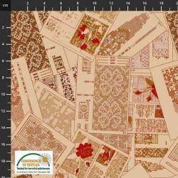Crossstitch Pattern - BEIGE