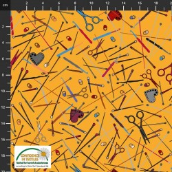 Sewing and Knitting Accessories - YELLOW