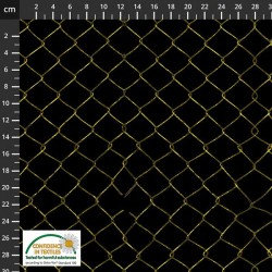 Avalana Sweat 150cm NonBrushed Fencing - BLACK