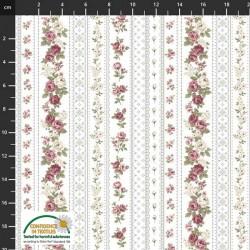 Trellis Flowers - GREY