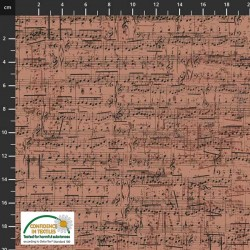 Sheet Music - DUSTY PINK