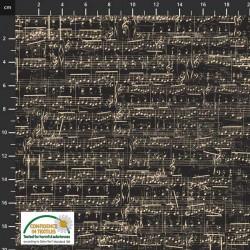 Sheet Music - BLACK