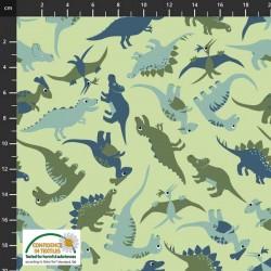 Tosses Dinosaurs - GREEN